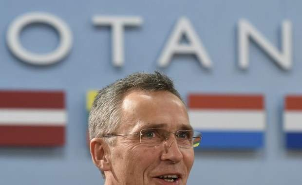 NATO Secretary General Jens Stoltenberg attends a Foreign Affairs ministers session with Montenegro on the second day of NATO ministerial meetings at the NATO headquarters in Brussels on December 2, 2015. NATO foreign ministers today invited Montenegro to join the US-led military alliance, a move Russia has repeatedly warned would be a provocation and a threat to stability in the western Balkans. / AFP / JOHN THYS