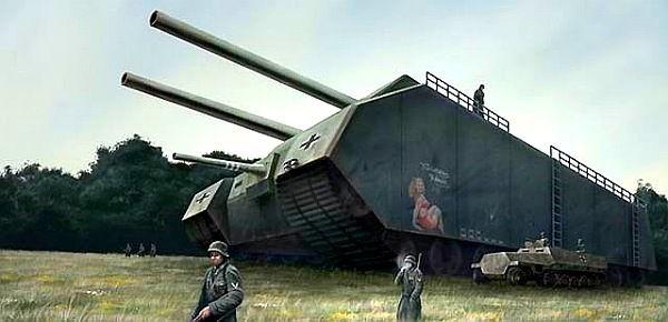 Невероятные военные разработки нацистской Германии