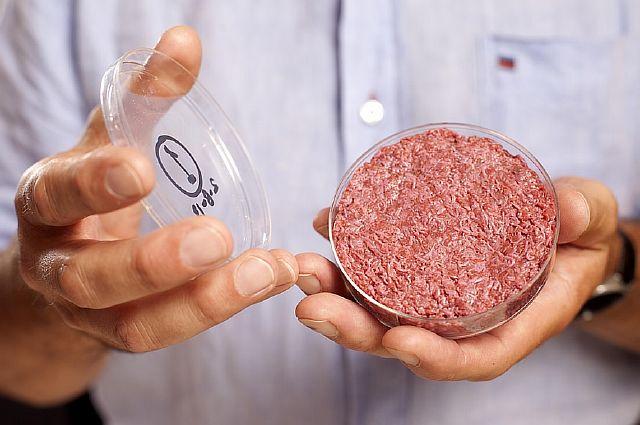 Розовая слизь в гамбургерах фаст-фуда