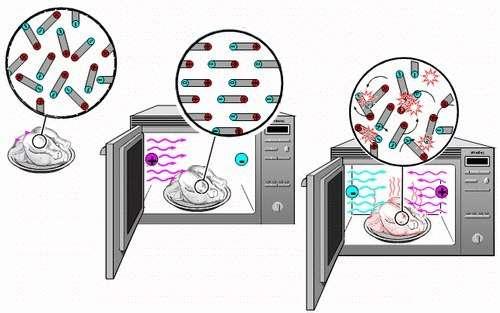 Принцип работы микроволновки