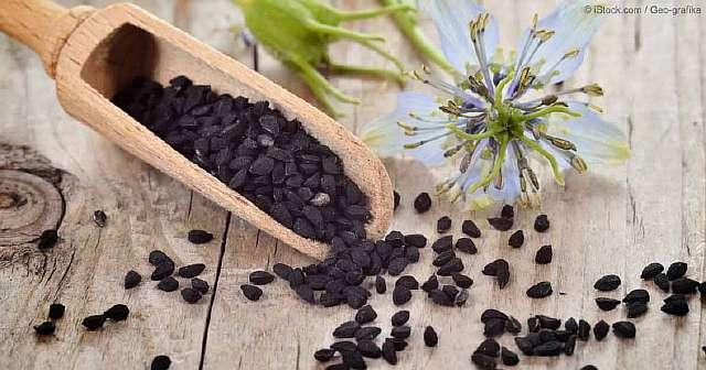 Семена чёрного тмина