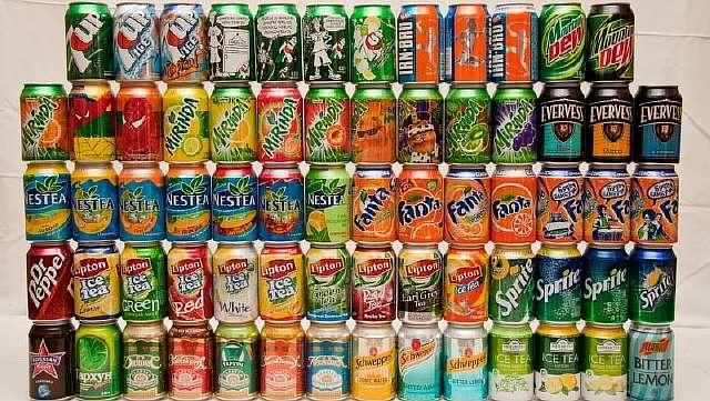 Газированные напитки без сахара