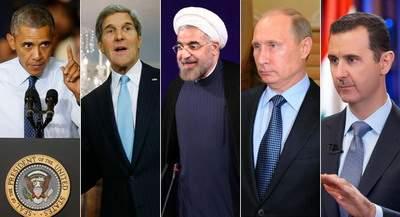 Обама переходит к Ирану, Путин держит Сирию