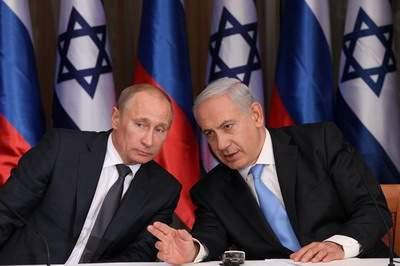 Премьер-министра Беньямин Нетаньяху 25 июня 2012 года проводит с президентом Владимиром Путиным совместную пресс-конференцию в иерусалимской резиденции Нетаньяху