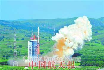 Запуск китайского спутника в июле