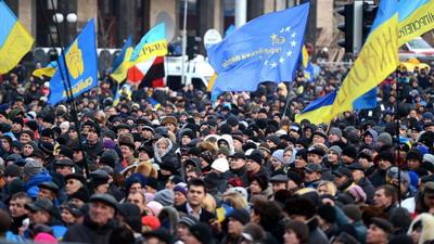 Протесты в столице Украины, Киеве