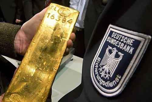 """""""Мартышкин труд"""", сопровождающий возвращение немецкого золота из  Федерального резервного банка,  наводит на размышления"""