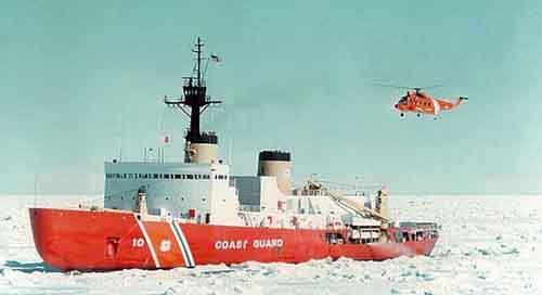 Флагман американского арктического флота? 38-летний ледокол Береговой охраны США «Полар стар».