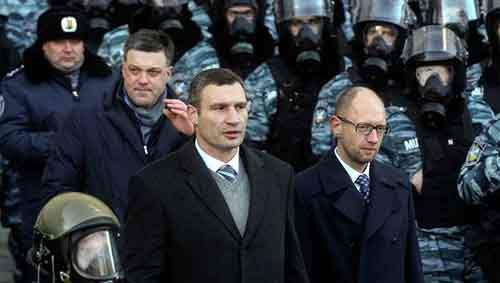 Украинская оппозиция в союзе с Западом