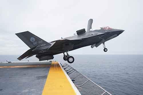 Как утверждает командование ВВС США, истребитель F-35 без F-22 бесполезен