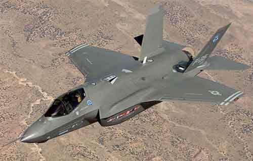 Расходы на проблемный истребитель F-35 заморожены