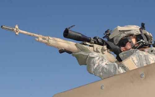 Снайперы часто используются в качестве подставных террористов
