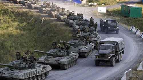 НАТО: РФ сосредоточила значительный, подготовленный контингент войск на восточной границе Украины
