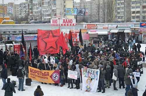 Украина на распутье: обращение украинской антифашистской группы