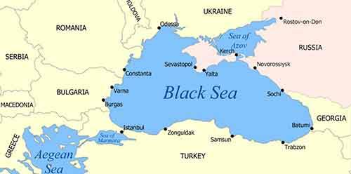 Карта России после референдума в Крыму