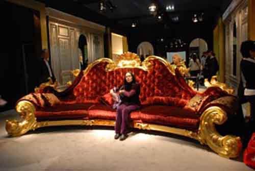 Выставка антикварной мебели в Лондоне