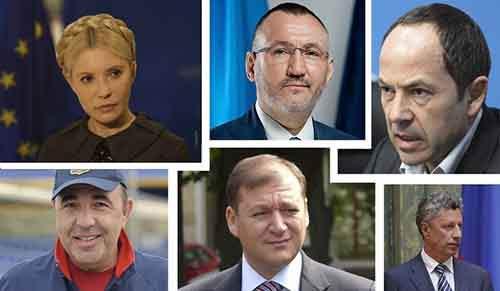 Кандидаты в президенты Украины 2014