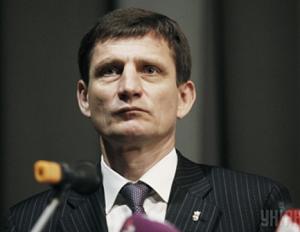 """Один из троих вице-премьеров Александр Сыч, член неофашистской партии """"Свобода"""""""