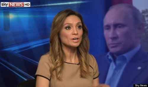 Бывшая ведущая канала «Russia Today» Лиз Валь