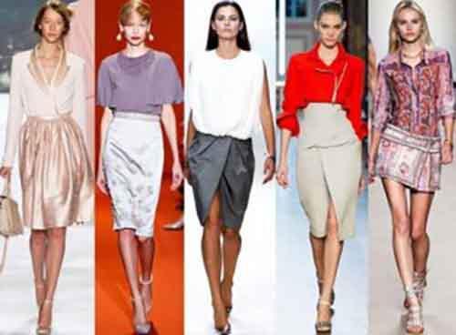 Модные юбки весеннего сезона 2014