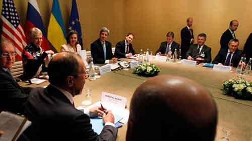 МИД Украины призвало Россию приступить к выполнению Женевского соглашения