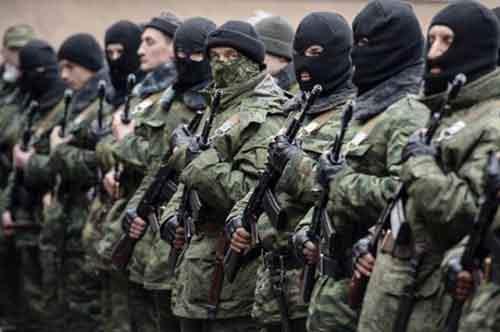 В район Славянска направлен резервный батальон Национальной Гвардии