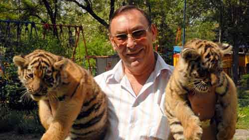 Директор Николаевского зоопарка Владимир Топчий, март 2014 года