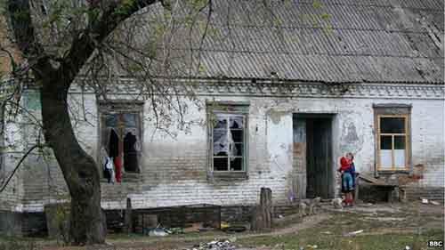Большая часть населения Украины проживает в бедности