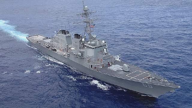 The Telegraph: эсминец ВМС США Donald Cook вошел в акваторию Черного моря