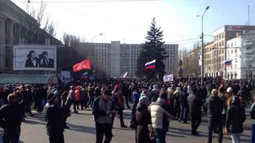 На востоке Украины началась антитеррористическая операция