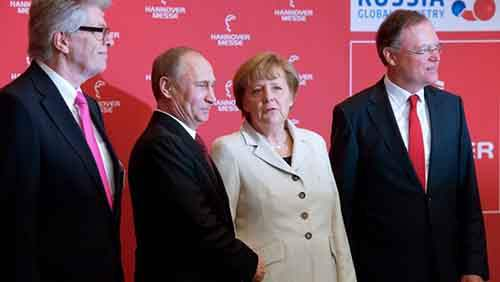 Немцы не хотят ссоры с Россией