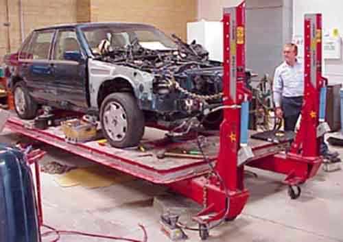 Инновационное оборудование для ремонта автомобилей: кузовные работы
