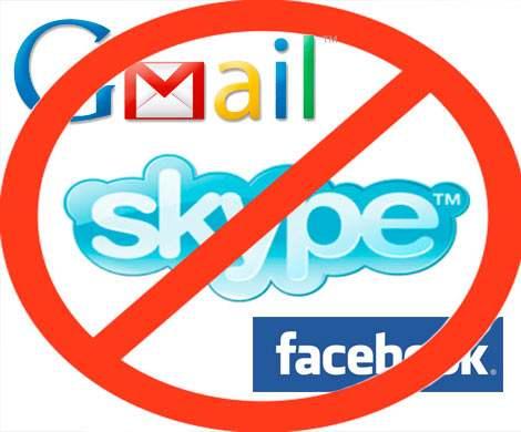 Facebook, Gmail и Skype могут стать недоступными для россиян
