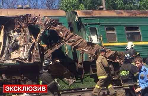 Транспортные эксперты назвали  причины вчерашнего столкновения товарного поезда с пассажирским
