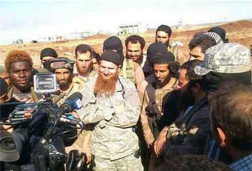 Большая группа чеченских боевиков