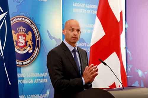 Полномочный представитель генерального секретаря ООН по Кавказу и Центральной Азии Джеймс Аппатурай