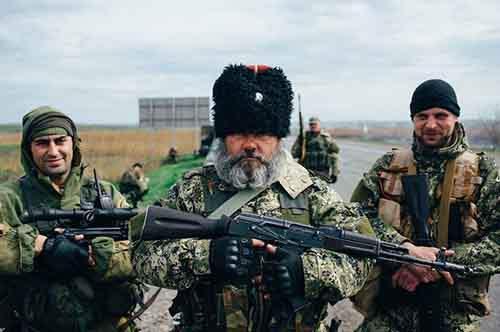 Казачьи «волчьи сотни» решают задачи России на Украине