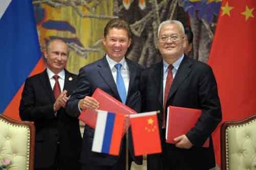Геополитика российско-китайского газового контракта
