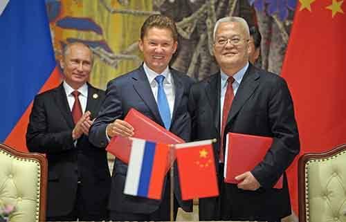 Газовый контракт с Китаем - больше, чем экономическая сделка
