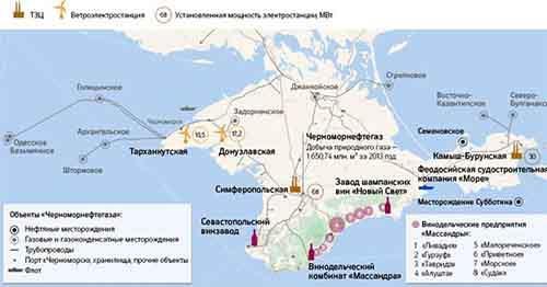 Крымский бонус: месторождения нефти и газа