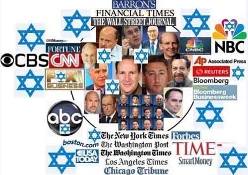 Общеизвестные сионистские СМИ Америки