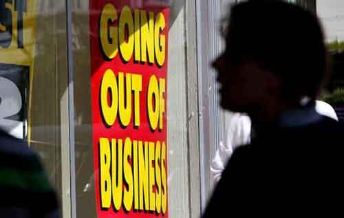 Monthly Retail Sales Drop For Second Month In Row