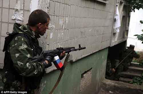 По утверждениям киевских властей, украинские военные убили 5 ополченцев во время штурма погранчасти