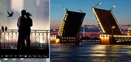 Самые романтичные места Санкт-Петербурга