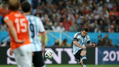 Второй командой вышедшей в финал чемпионата мира стала Аргентина