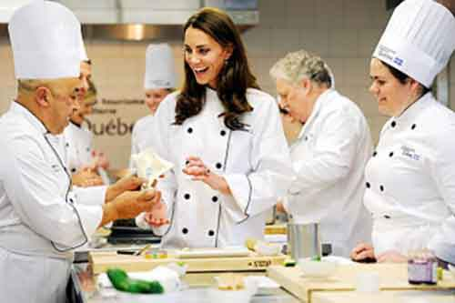 Кулинарные курсы для Кейт  Миддлтон