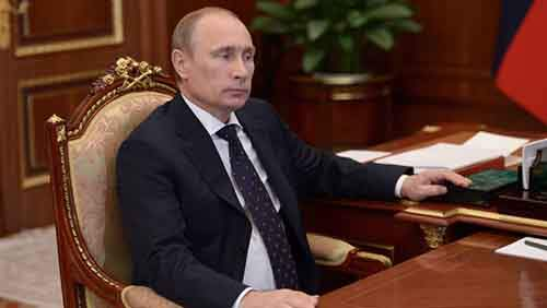 President Putin meets with Dagestan leader