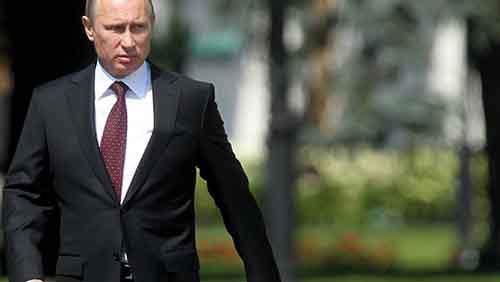 Президент России Владимир Путин в Кремле, 31 июля 2014