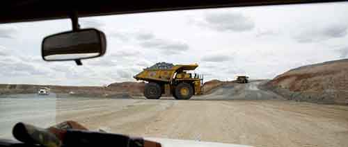 Operations Inside Rio Tinto Group's Oyu Tolgoi Copper And Gold Mine