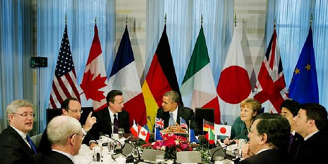 G7 Leaders Meet To Discuss Ukraine During Nuclear Summit